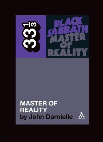 Black Sabbath's Master of Reality By Darnielle, John